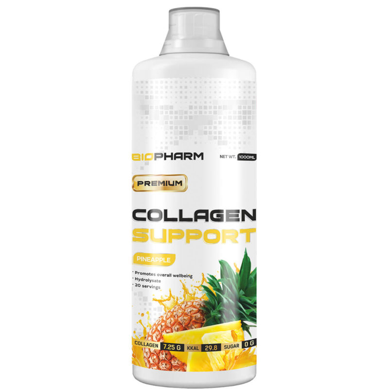 BIOPHARM COLLAGEN 1000 мл. Ананас