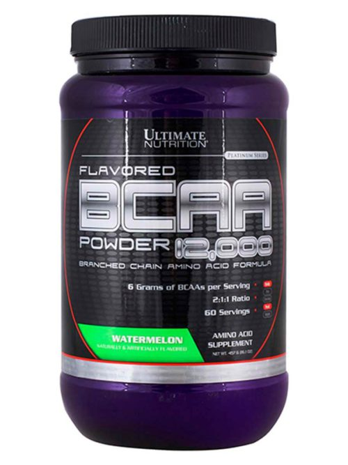 Ultimate Nutrition Flavored BCAA Powder 12000 Арбуз
