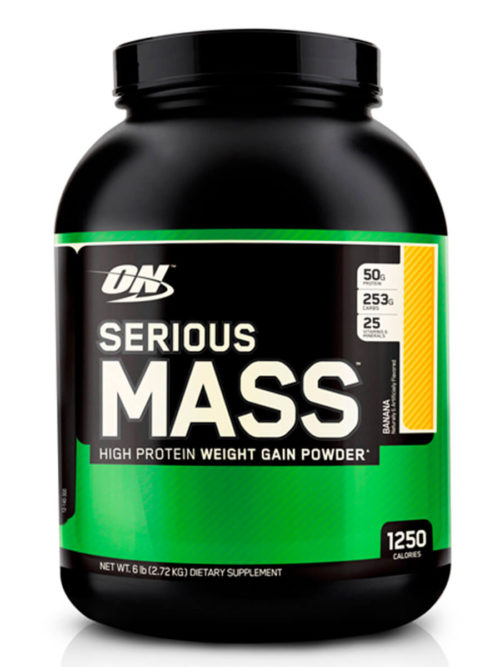 Optimum Nutrition Serious Mass Банан