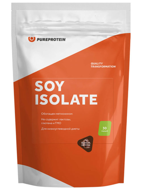 PureProtein Soy Isolate Карамель