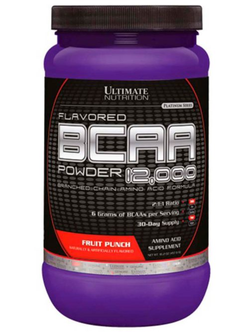 Ultimate Nutrition Flavored BCAA Powder 12000 Фруктовый пунш