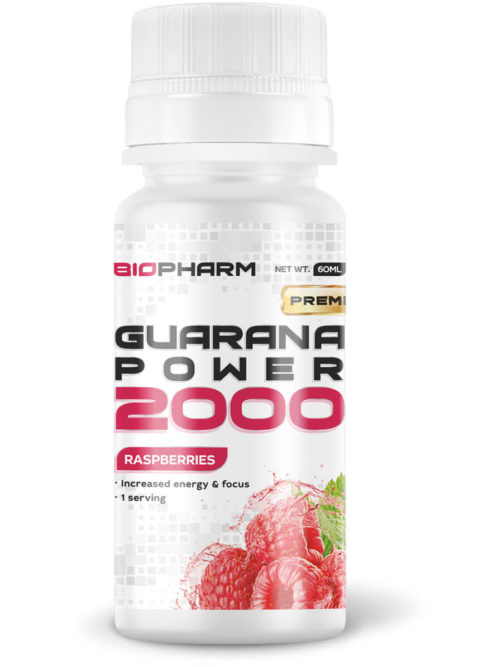 BIOPHARM Guarana 2000 raspberries