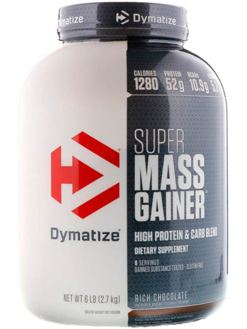 Dymatize Nutrition Super Mass шоколад