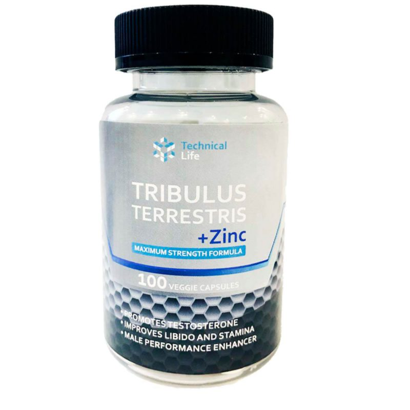 Technical Life Tribulus + Zinc 100 caps