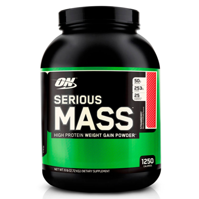 Optimum Nutrition Serious Mass Клубника